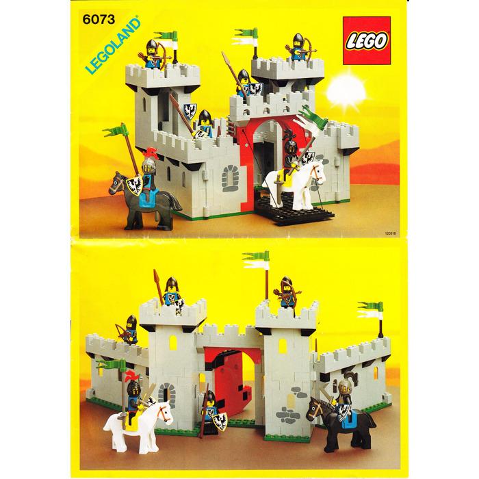 Lego Black Knights Castle Set 6073 Instructions Brick Owl Lego