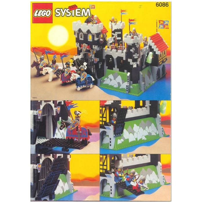 Lego Black Knights Castle Set 6086 Brick Owl Lego Marketplace