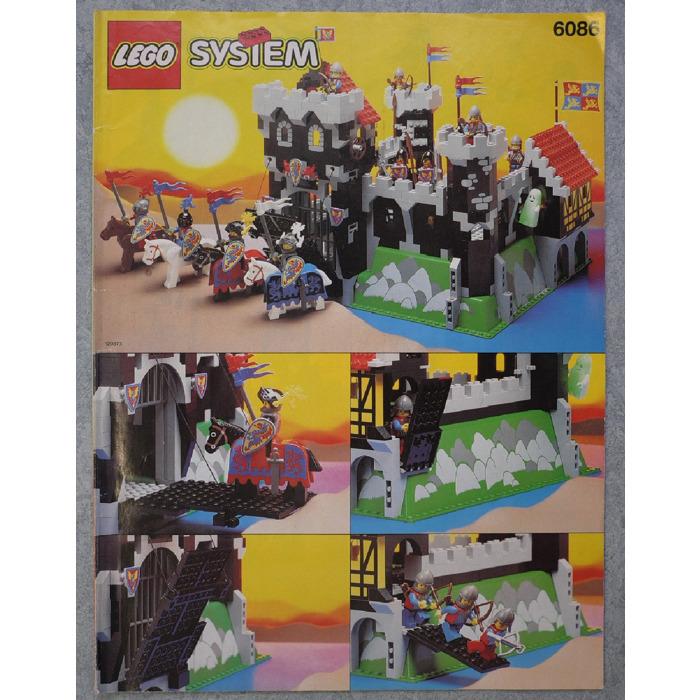 Lego Black Knights Castle Set 6086 Instructions Brick Owl Lego