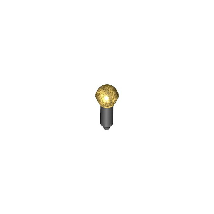 Black And Gold 2 X LEGO 20274 Minifigure Music Micro Mic new New Microphone