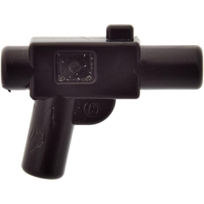 SW Blaster Small DC-17 Weapon Gun NEW Star Wars LEGO x10 Black Minifig
