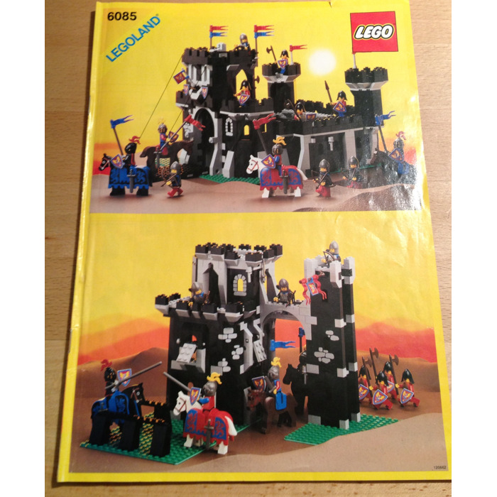 Lego Black Monarchs Castle Set 6085 Instructions Brick Owl Lego
