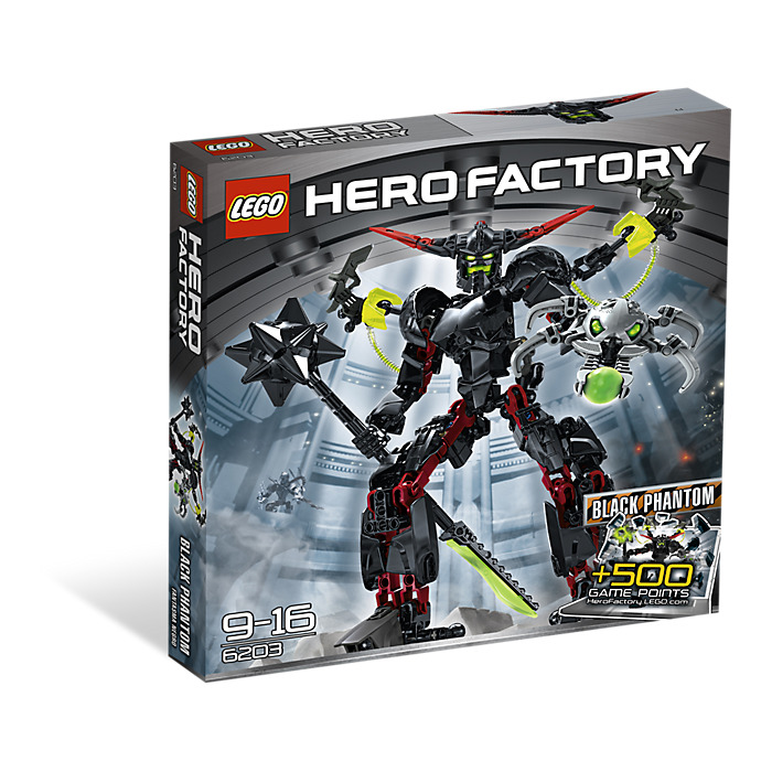 hero factory black phantom instructions