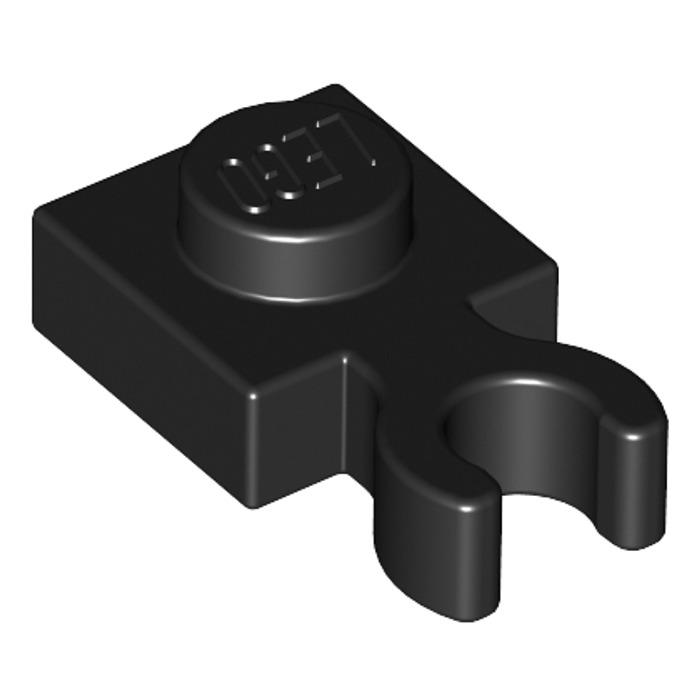 "12 Pcs LEGO 60897 Assorted Colors 1x1 PLATE 1 x 1 w// Vertical /""U/"" Clip Holder"