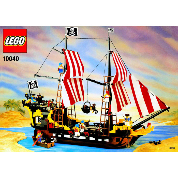 Lego Black Seas Barracuda Set 10040 Instructions Brick Owl Lego