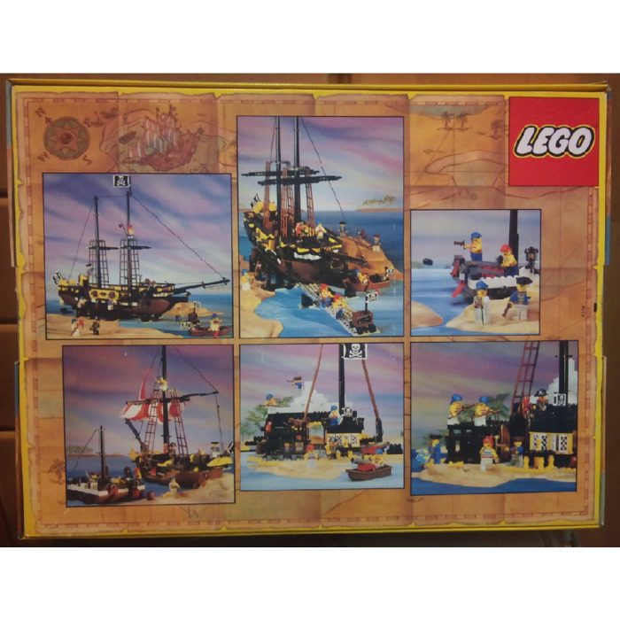 Lego Black Seas Barracuda Set 6285 Packaging Brick Owl Lego