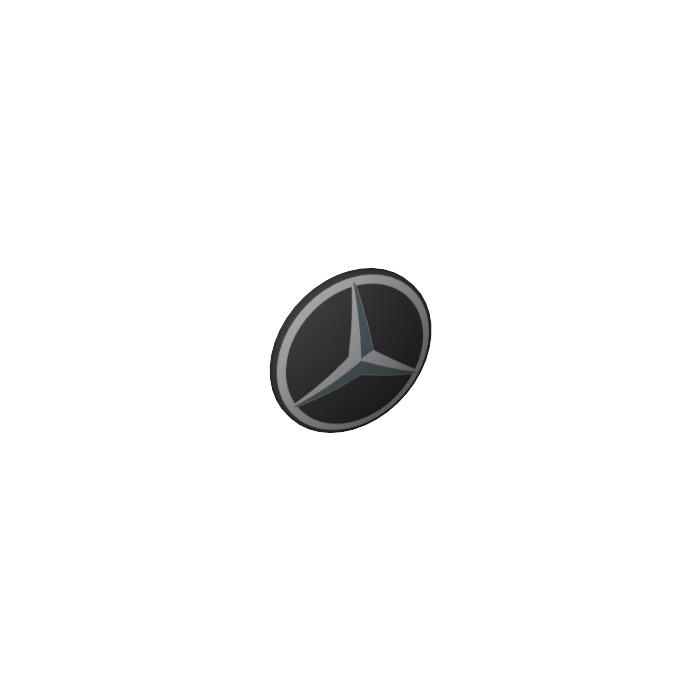 1x LEGO 75902pb06 Scudo con Logo Mercedes-Benz Nero6113039