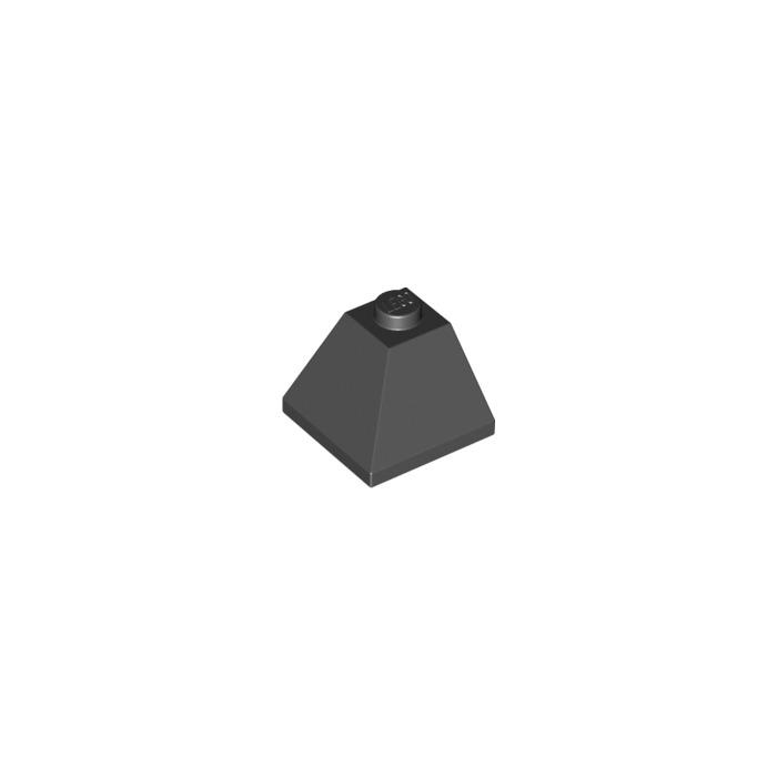 Black LEGO® 4 x 3045 Dach Außen Eck Stein 45° 2 x 2 schwarz 4189064 N70