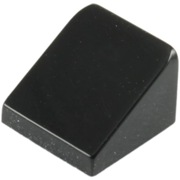 Qty:25 Element 4504382 New Lego Black Slope 1x1 Part 54200