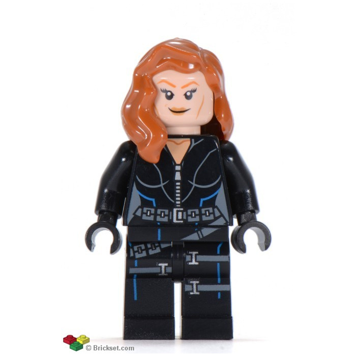 LEGO Black Widow Minifigure | Brick Owl - LEGO Marketplace
