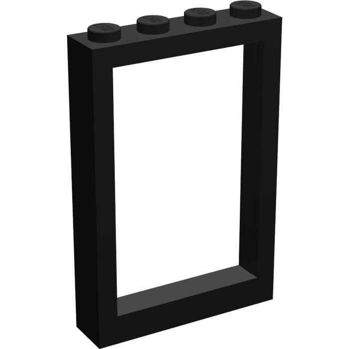 LEGO Window 1 x 4 x 5 with Fixed Glass - Frame | Brick Owl - LEGO ...