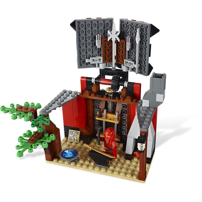 lego ninjago blacksmith shop instructions