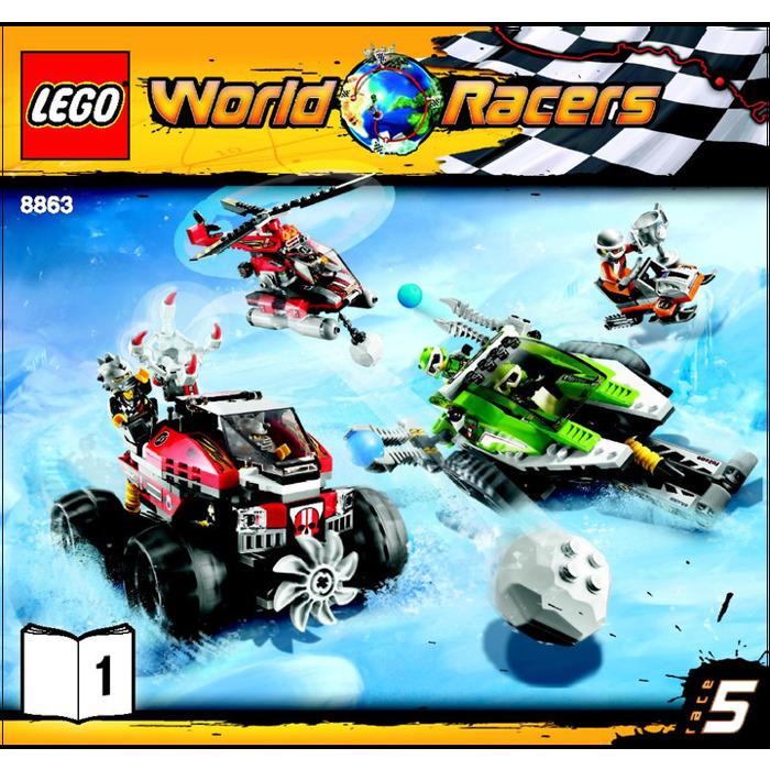 LEGO Blizzard's Peak Set 8863 Instructions | Brick Owl - LEGO ...