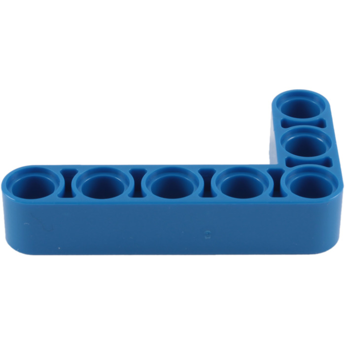 LEGO Blue Beam Bent 90 degrees, 3 and 5 Holes (32526) Comes