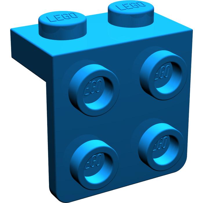 Lego Parts 21712 3pcs Bracket 1x2-2x2 With Studs Choose Color