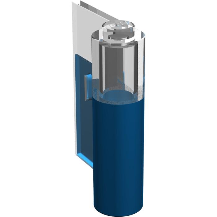Lego blue door 1 x 3 x 3 left with window brick owl for 2 x 3 window