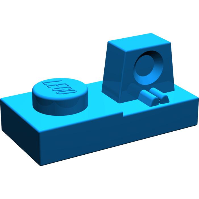 Hinge Flat 1x2 Locking New New 4 x lego 30383 Plate Hinge Grey Grey