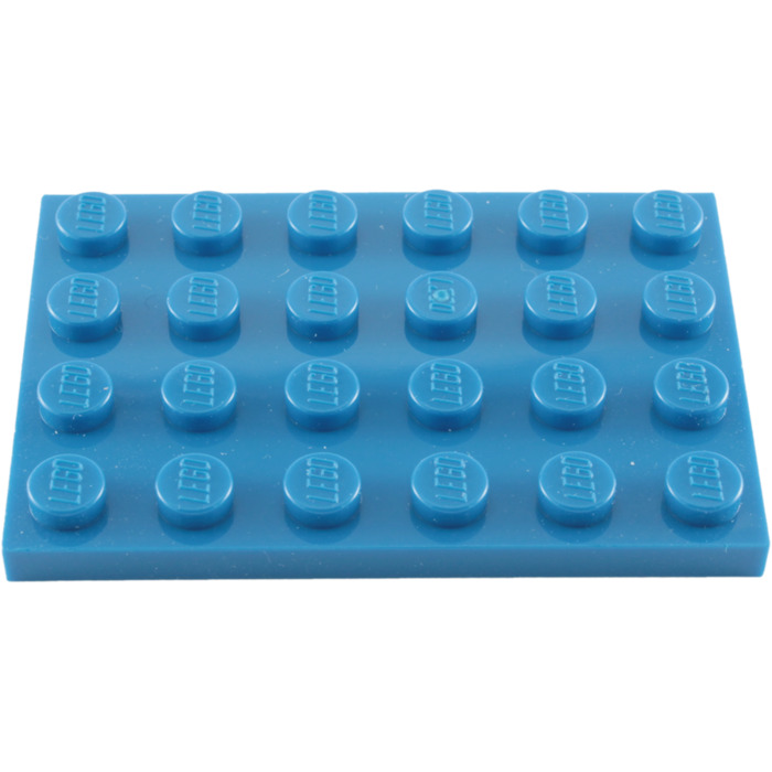 Lego 5x Tan Plate 4 x 6 NEW