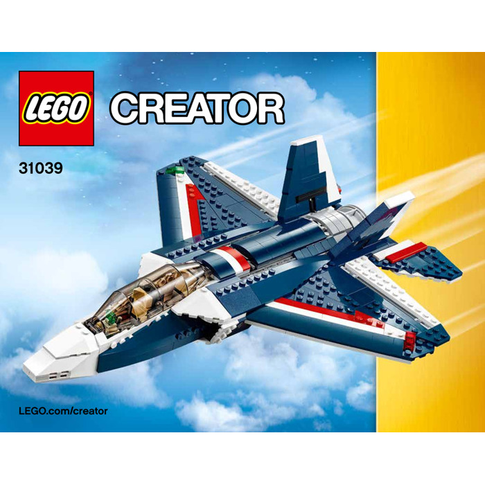 Lego Power Blue 31039 Instructions Jet Fcu5lTKJ13