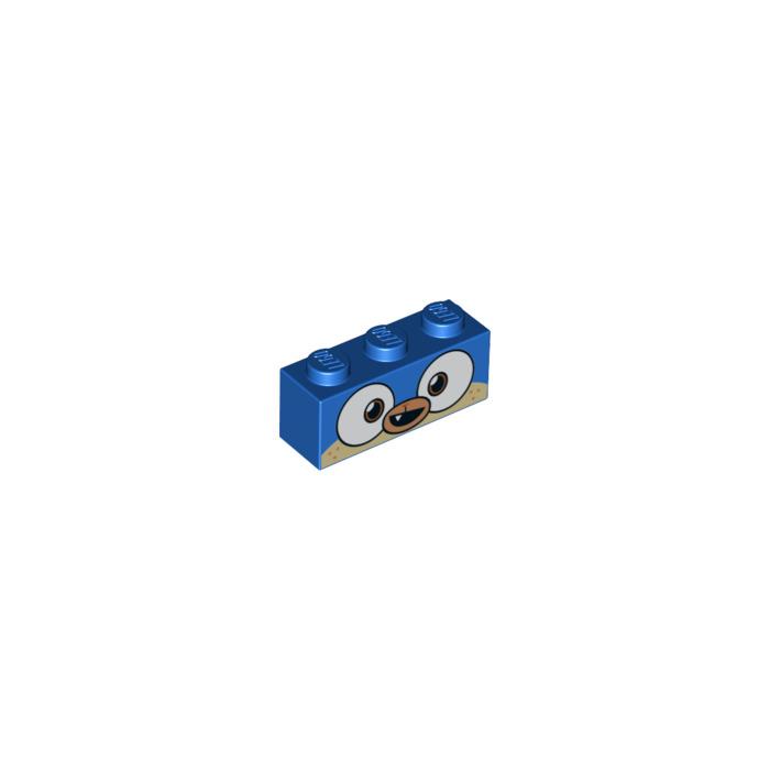 LEGO Blue Prince Puppycorn Brick 1 x 3 (38289)