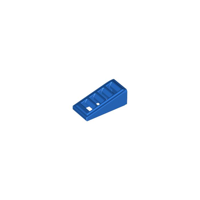 18863 // 61409 Lego Blue 1x2x2//3 Slope Grille Brick x20 in a set *BRAND NEW*