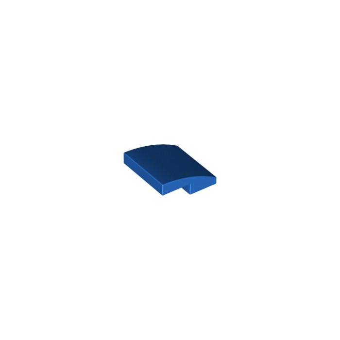 Lego 10x Blue Slope 2x2 2//3 Curved NEW!!! 15068