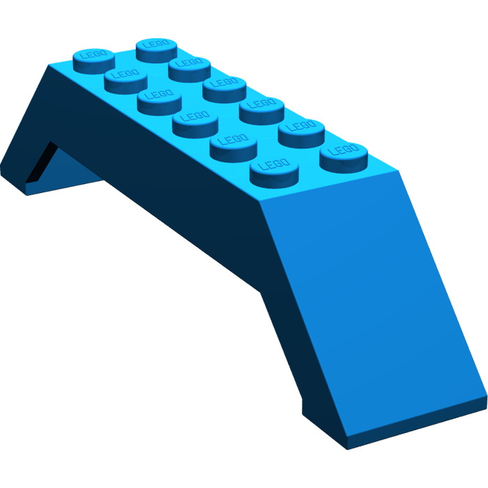 4f004979cce6 LEGO Blue Slope 45° 10 x 2 x 2 Double (30180)