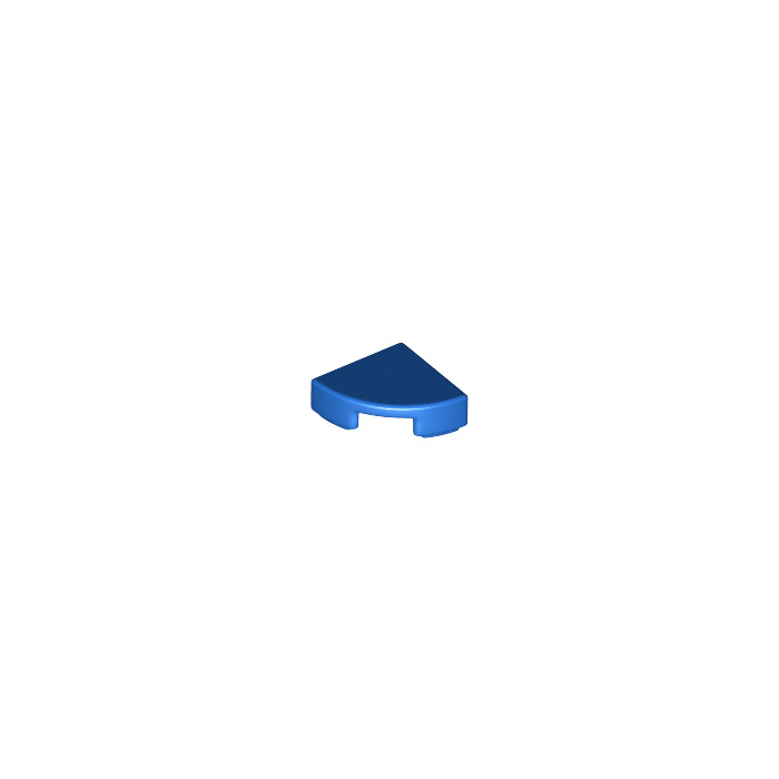Round 1x1 Quarter Lego 25269-4x Plaque Ronde // Tile NEUF Bleu // Dark Blue