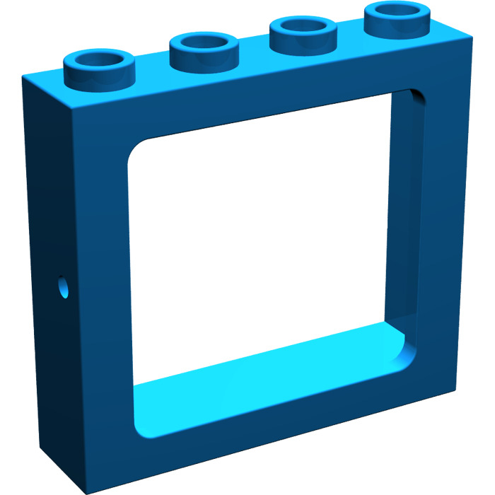 Lego train window 1 x 4 x 3 4033 brick owl lego for 1 x 3 window