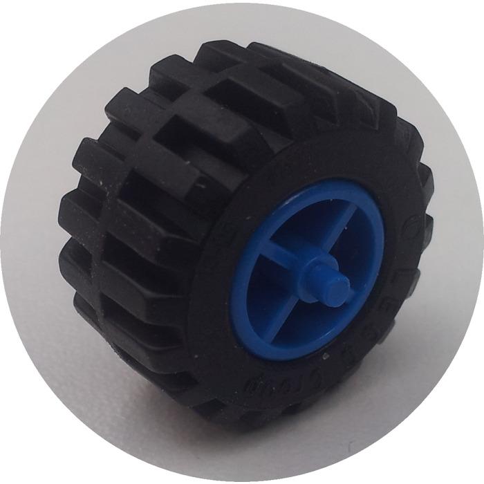 Lego 10 X 87697//6014 rueda llanta neumático Ø21 X 12mm Ø11 X 12-Blanco-Libre P/&P