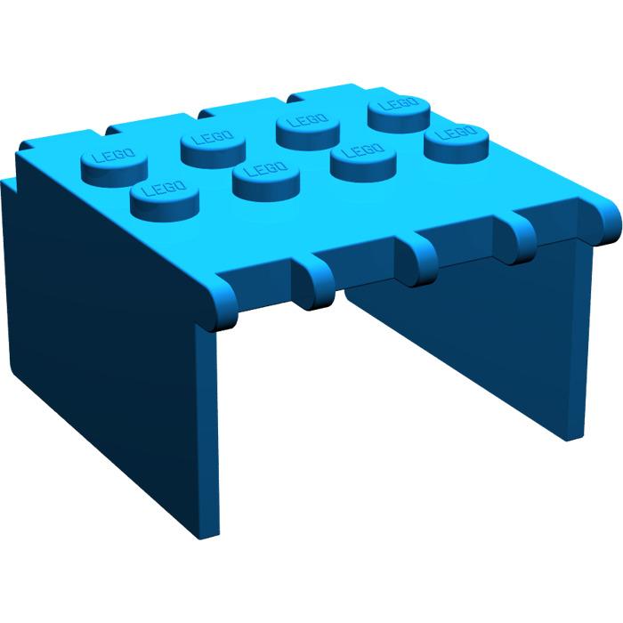 LEGO Blue Windscreen 4 x 4 x 2 Canopy Extender  sc 1 st  Brick Owl & LEGO Blue Windscreen 4 x 4 x 2 Canopy Extender | Brick Owl - LEGO ...