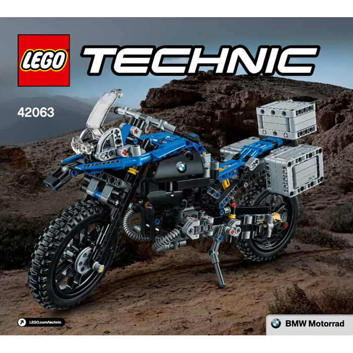 lego bmw r 1200 gs adventure set 42063 instructions. Black Bedroom Furniture Sets. Home Design Ideas