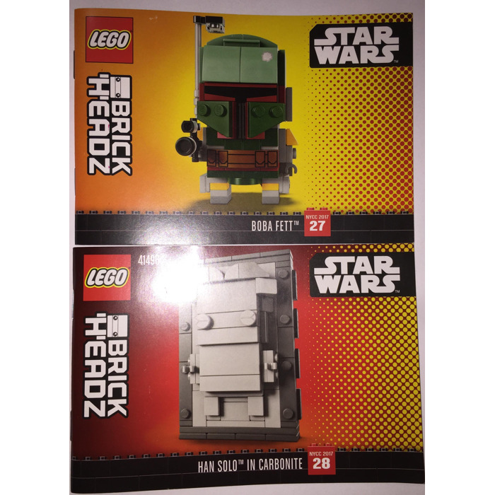 Lego Boba Fett And Han Solo In Carbonite Set 41498 Instructions