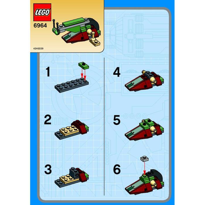 Lego Boba Fetts Slave I Set 6964 Instructions Brick Owl Lego