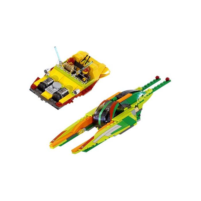 Lego Star Wars Red Light Saber Lightsaber Chrome Silver Hilt Weapon New