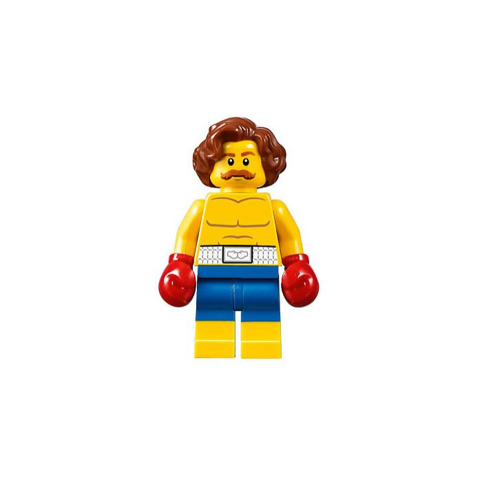 LEGO Torso with White Boxing Belt Pattern and Boxing Gloves (973 ...