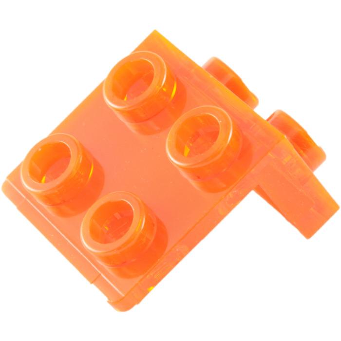 Lego 5 New Black Brackets 1 x 2-1 x 2 Pieces