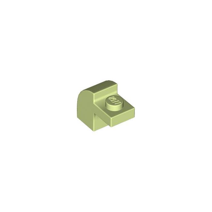 LEGO-NEW #6091-LIGHT AQUA-BRICK MODIFIED 1 X 2 X 1 1//3 W// CURVE TOP-50 PARTS