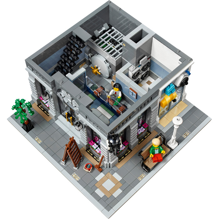 LEGO Brick Bank Set 10251 | Brick Owl - LEGO Marketplace