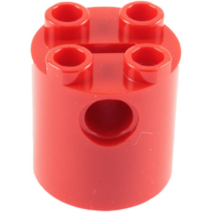 Round 2 x 2 x 2 Robot Body 30361 WHITE Brick LEGO Parts~ 3