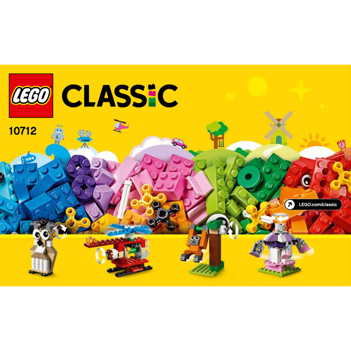 Lego Bricks And Gears Set 10712 Instructions Brick Owl Lego