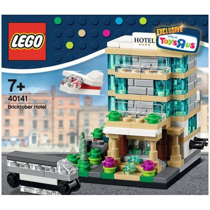 LEGO Bricktober Hotel Set 40141 | Brick Owl - LEGO Marketplace