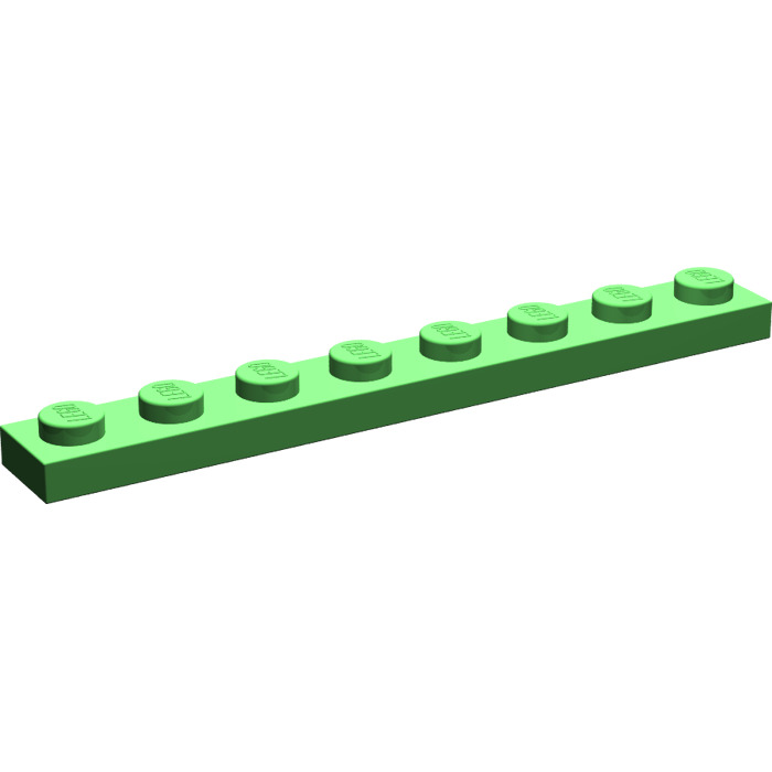 15 NEW LEGO Plate 2 x 8 Red