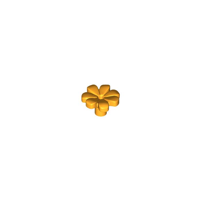 Lego 10x flower flower friends 7 petals petals deep pink//dark pink 32606 new
