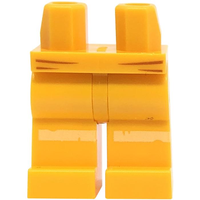 Lego Orange Minifig Legs w// Hips NEW