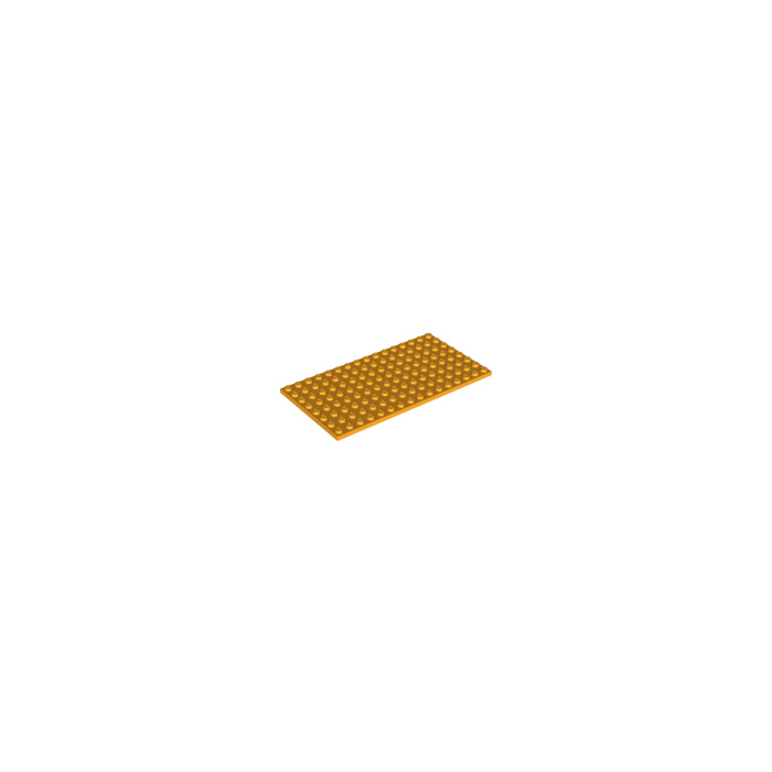 Flat Plate 8x16 8 x 16  GREEN 92438 1 LEGO Parts~