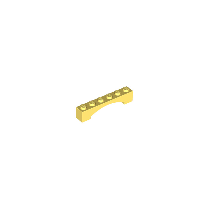 LEGO® Bright Pink Brick Arch 1 x 6 Part 92950