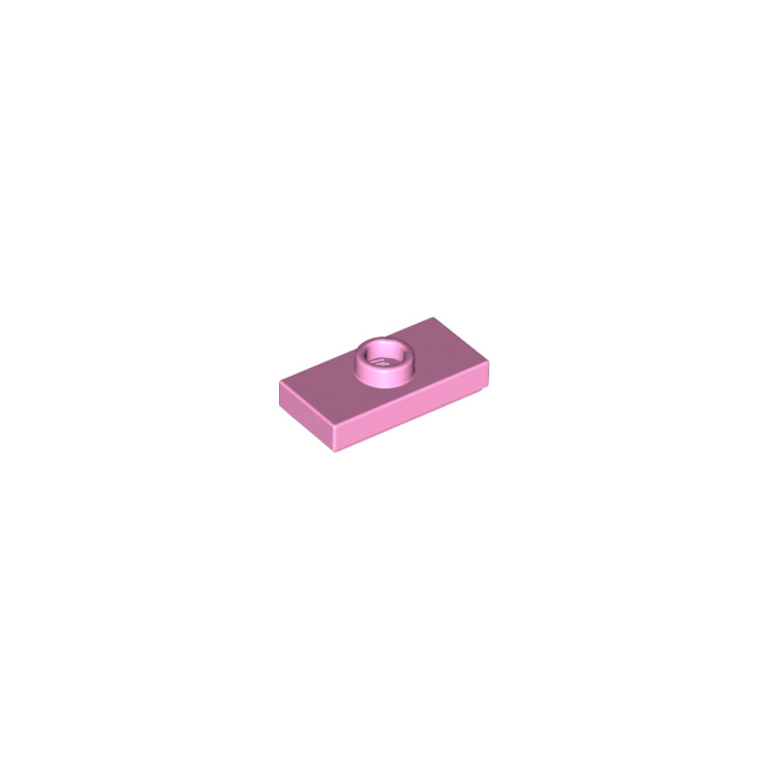 20 NEW LEGO Tile 2 x 2 with Groove Bright Pink