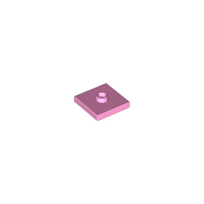 Lego 2x Tile Modified plaque plate lisse 2x2 2 tenon blanc//white 33909 NEUF