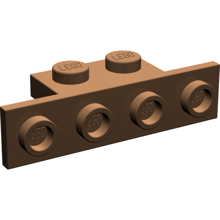 10x Lego Konverter Winkelplatte 1x4x1x2 Rot Nr 2436